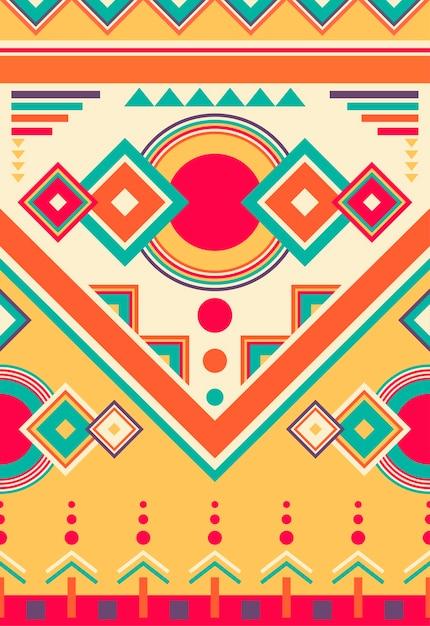 Illustration of ethnic pattern Free Vector