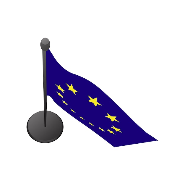 Illustration of european union flag Free Vector