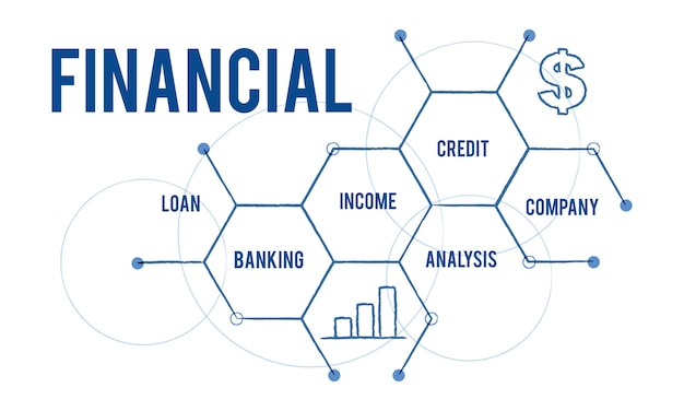 Illustration of financial concept Free Vector