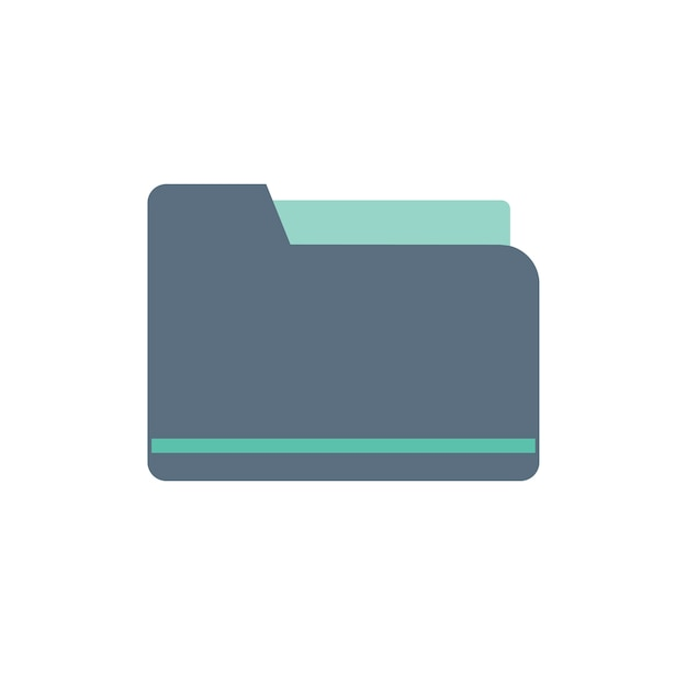 Illustration of folder icon Free Vector