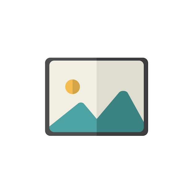 Illustration of gallery icon Free Vector