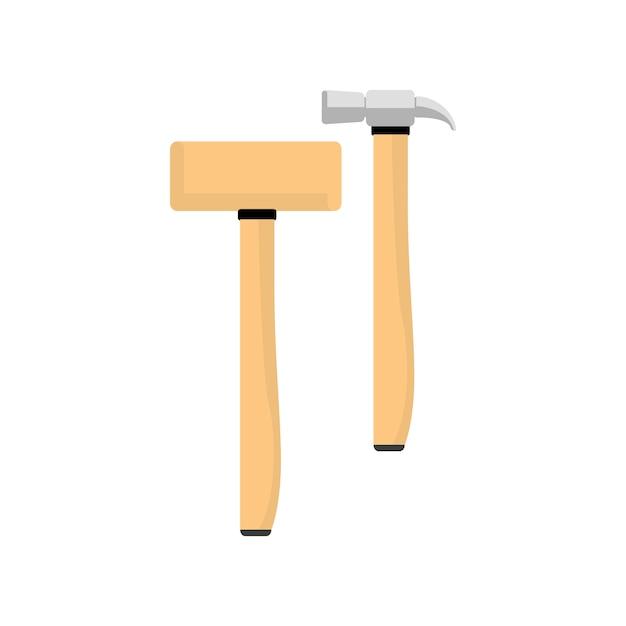 Illustration of hammer equipment Free Vector