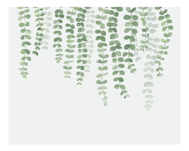 Illustration of hanging plant isolated on white background Free Vector