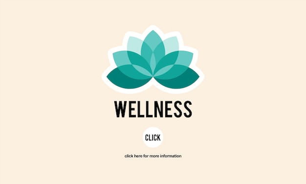 Illustration of healthy living concept Free Vector