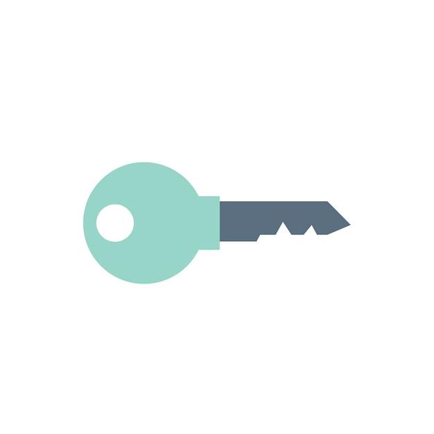 Illustration of key Free Vector