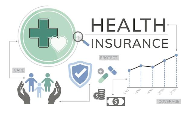 Free Vector | Illustration of life insurance