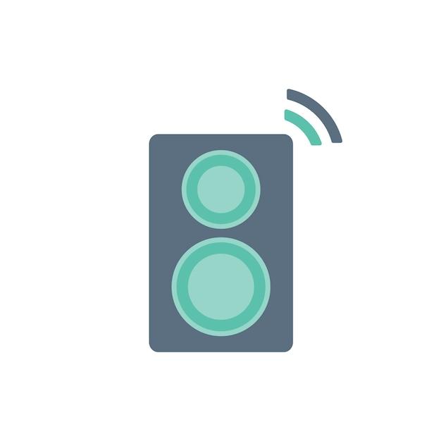 Illustration of loud speaker Free Vector