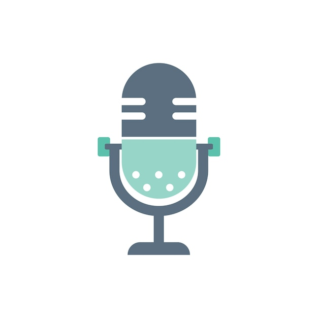 Illustration of microphone Free Vector