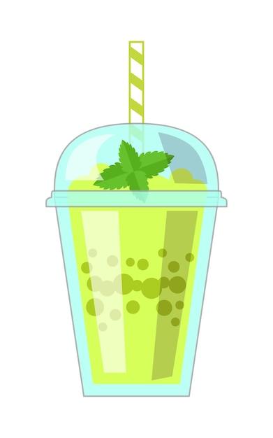 Illustration of milkshake Premium Vector