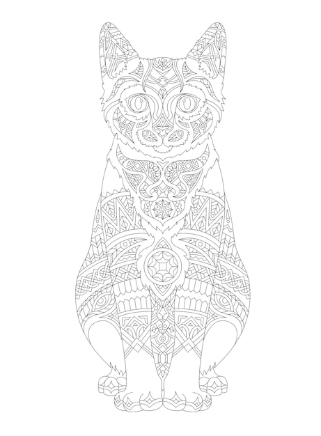 cat outline vectors  photos and psd files