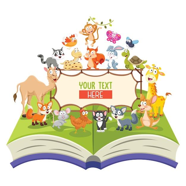 動物のイラスト Premiumベクター