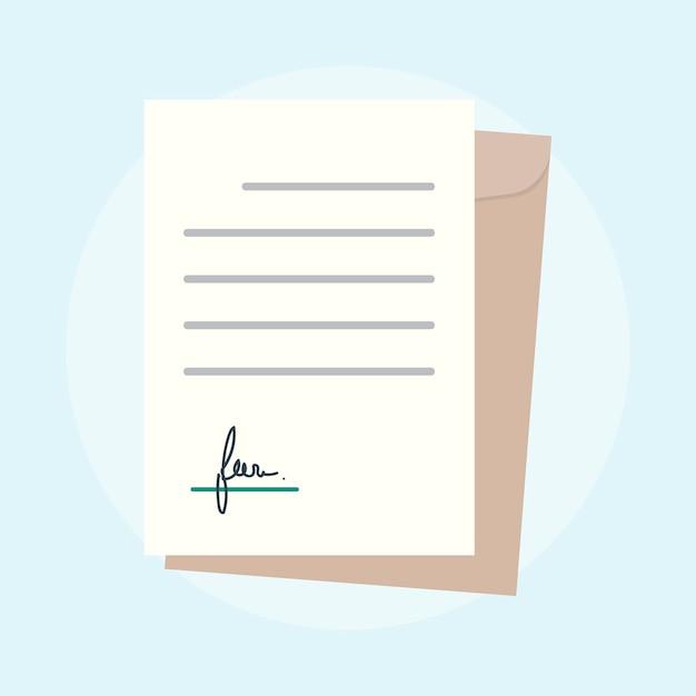 Иллюстрация концепции бизнес-соглашения Бесплатные векторы