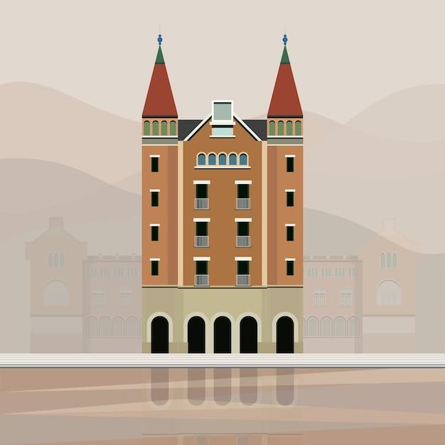 Illustration of Casa de les Punxes