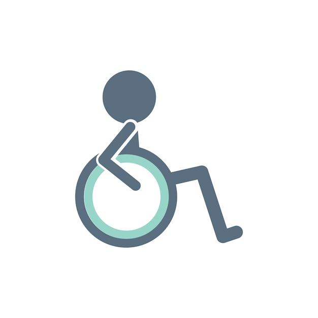 Handicap Logo Black And White