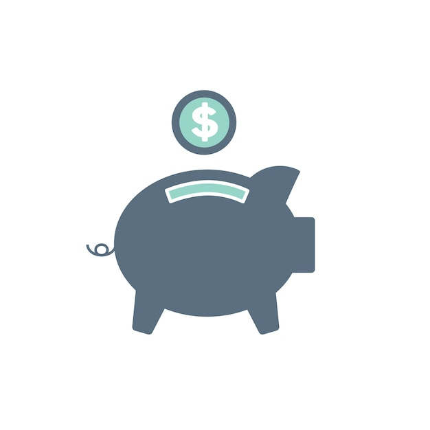 Illustration of piggt bank Free Vector