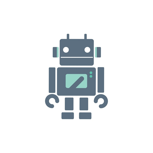 Illustration of robot Free Vector