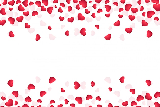 バレンタインの日グリーティングカードのイラスト 無料ベクター
