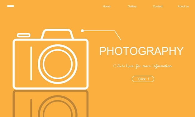 Illustration of photography Free Vector