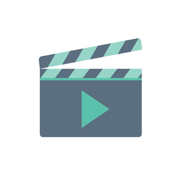 Illustration of play button Free Vector
