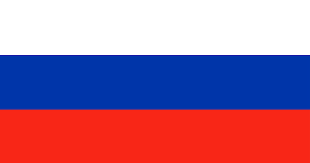 Illustration of russia flag Free Vector