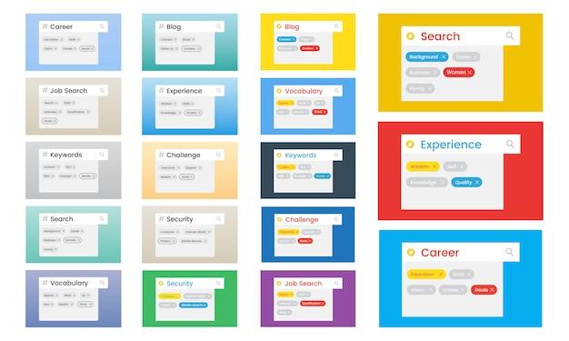 WEB DESIGN AND DEVELOPMENT - Search Bars