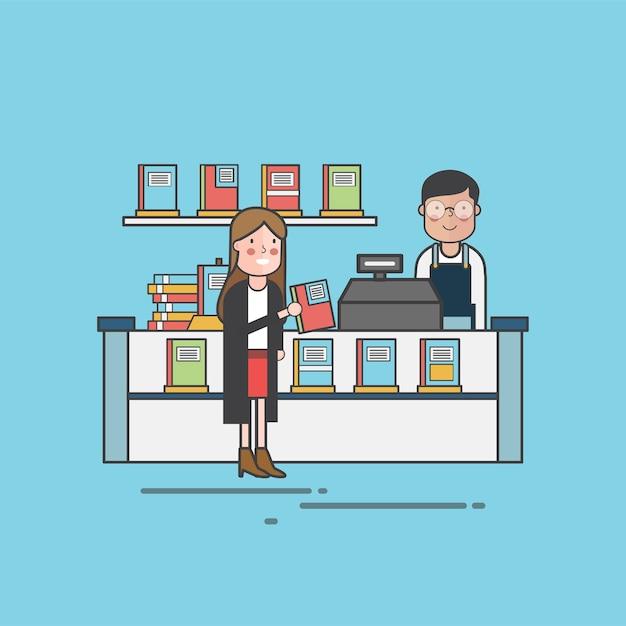 Illustration set of pet shop Free Vector