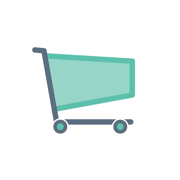 Illustration of shopping online Free Vector