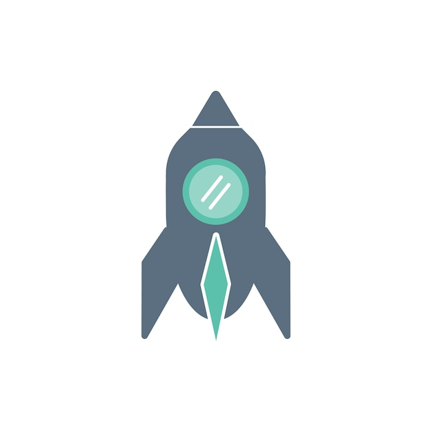 Illustration of space ship Free Vector