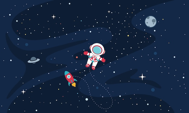 Illustration of space Premium Vector