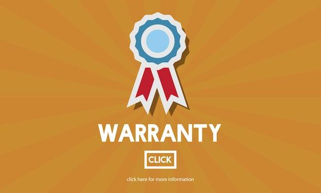 Illustration of warranty Free Vector