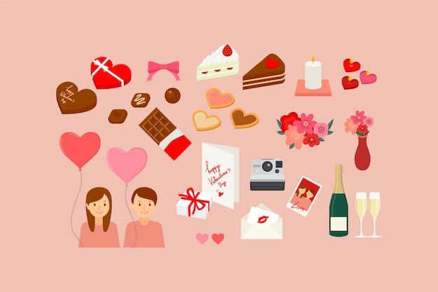 イラスト バレンタイン