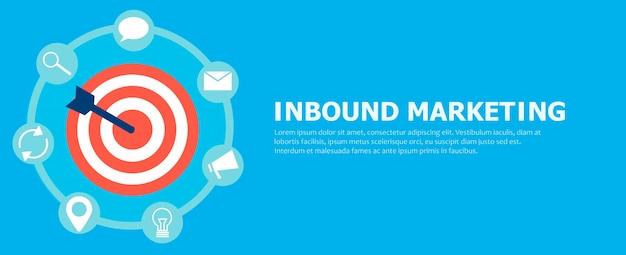 Inbound marketing. Free Vector