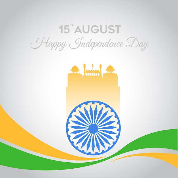 India independence day celebration Premium Vector