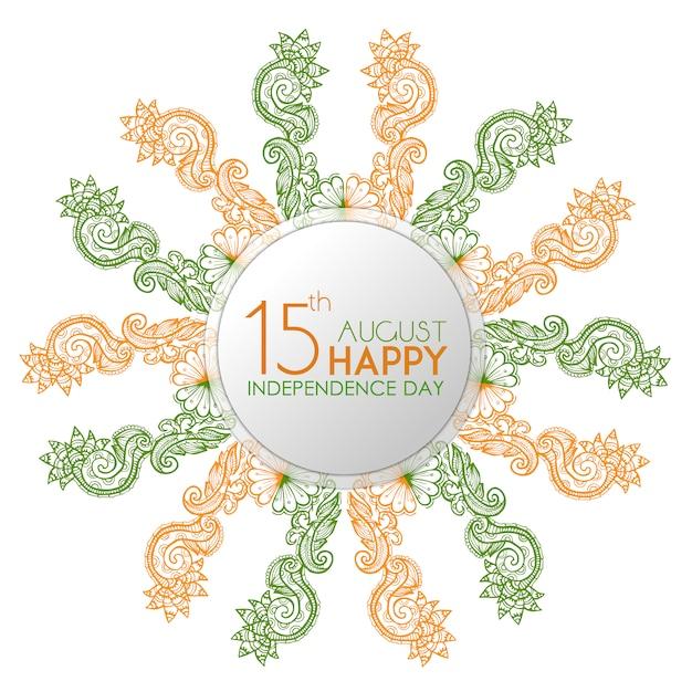 India independence day elegant background