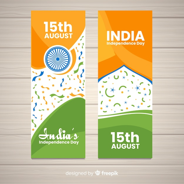 India independence day Free Vector