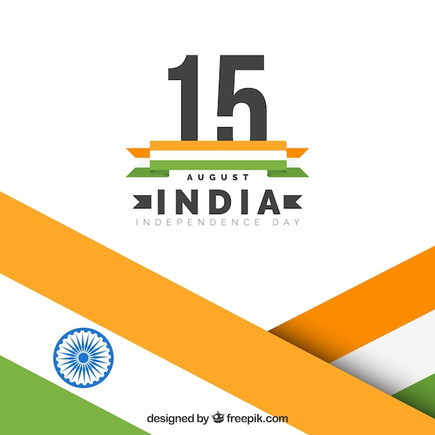 India independence flags background