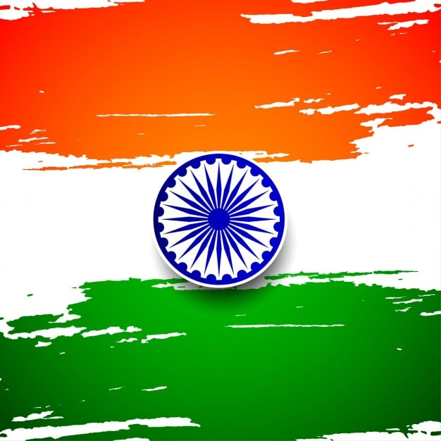 India republic day, background with a flag Vector | Free Download
