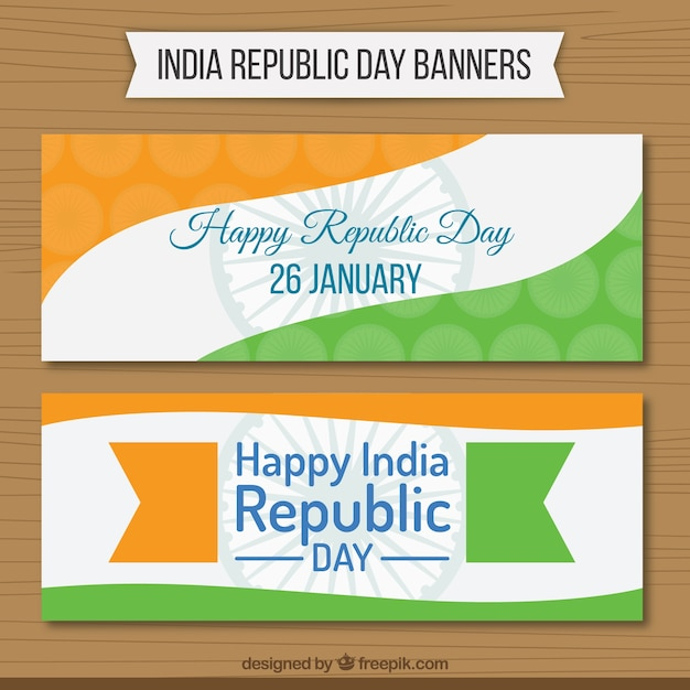 India Republic Day Banners Pack