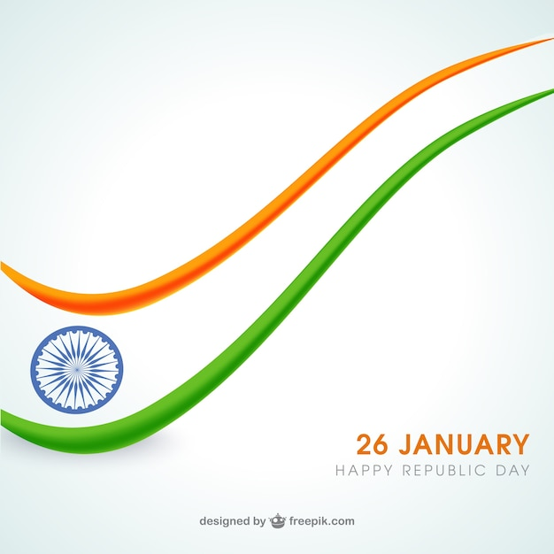 India Republic Day Vector Free Download