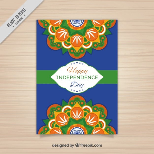 Indian Independence Day Flyer Design Vector | Free Download