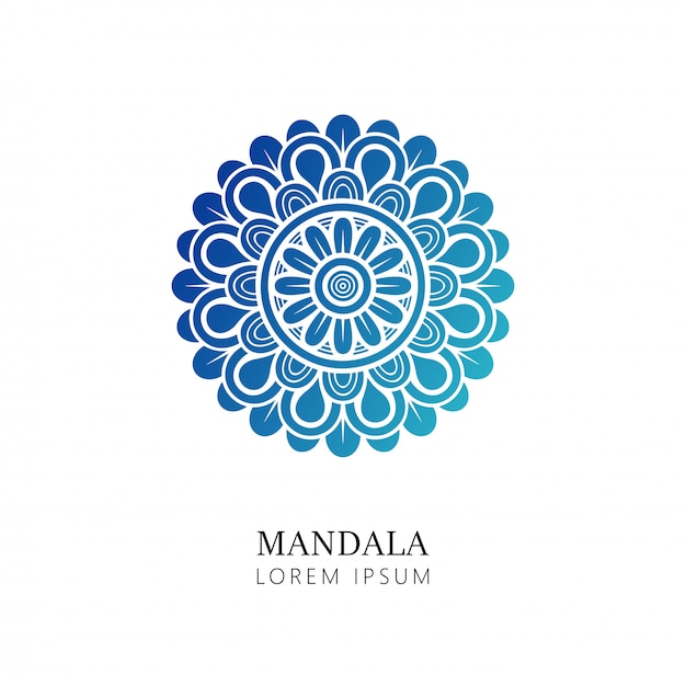 Indian mandala Premium Vector