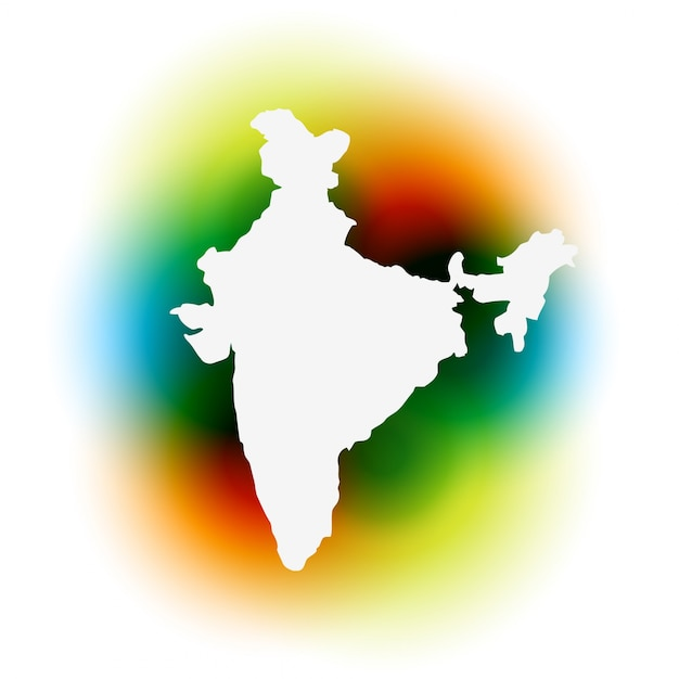 India Map Vectors Photos And PSD Files Free Download - India map vector