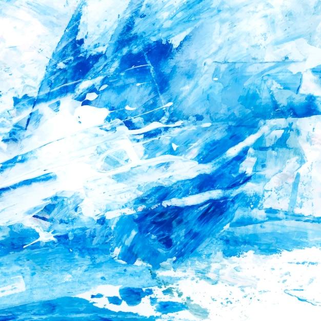 Indigo painted canvas Free Vector