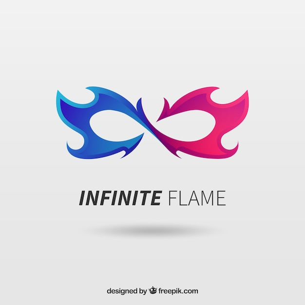 Infinite logo Free Vector