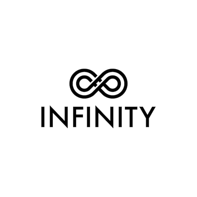 Infinity Symbol Logo Vector Premium Download
