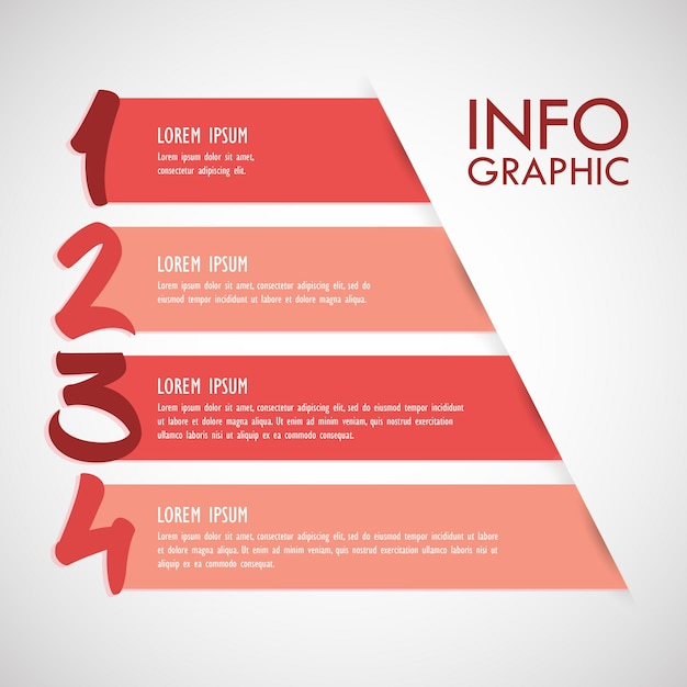 Infographic banner template Free Vector