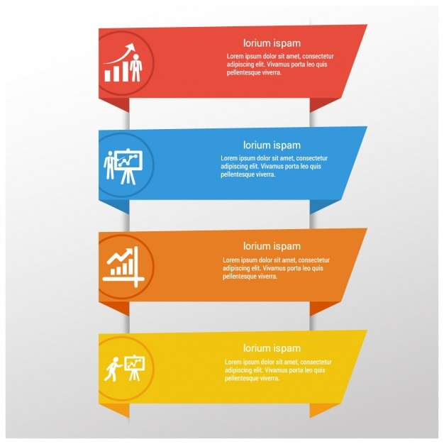 infographic banners templates vector free download
