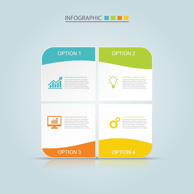 Infographic design Premium Vector