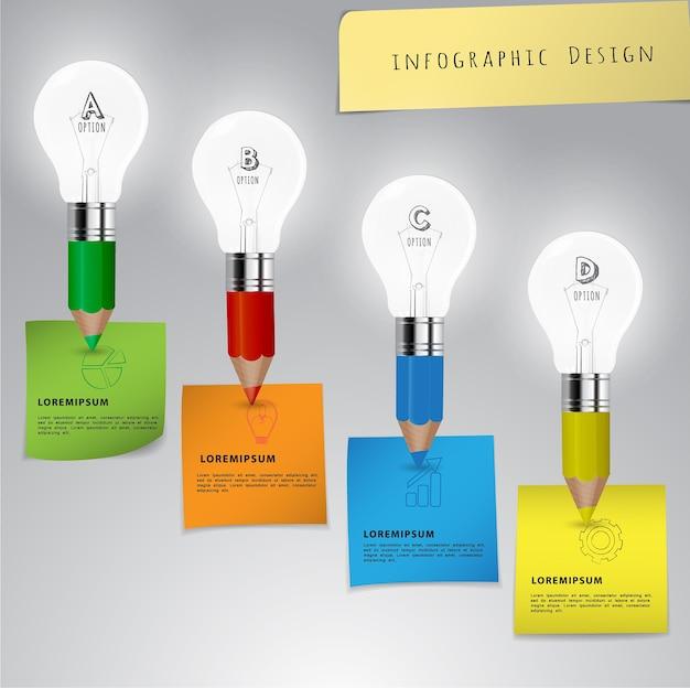Infographic design Premium Vector
