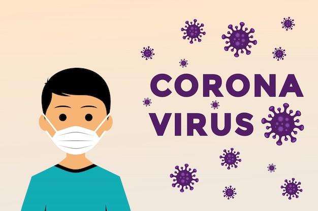 ウイルス感染防止のためのインフォグラフィックガイドライン Premiumベクター